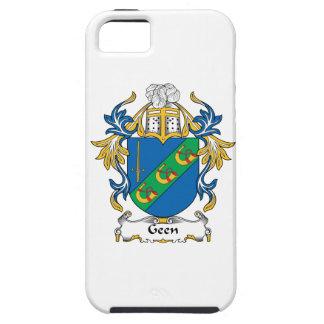 Escudo de la familia de Geen iPhone 5 Fundas