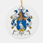 Escudo de la familia de Geier Ornamento De Reyes Magos