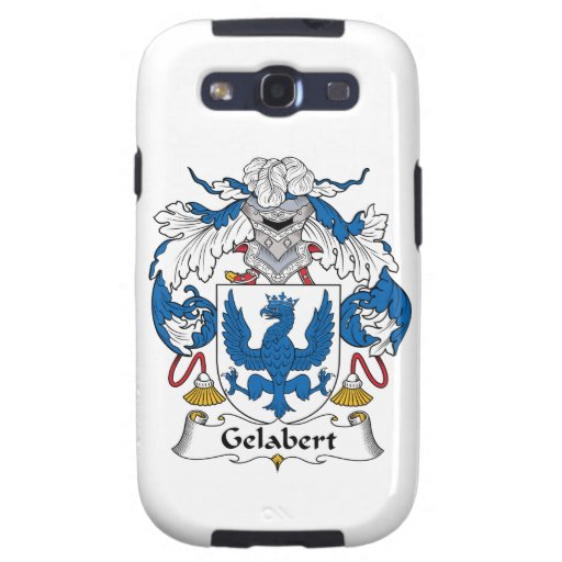 Escudo de la familia de Gelabert Samsung Galaxy S3 Fundas