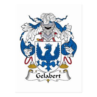 Escudo de la familia de Gelabert Postal