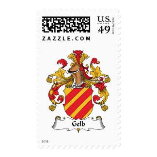 Escudo de la familia de Gelb Franqueo