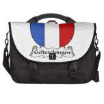 Escudo de la familia de Gelterchingen Bolsas Para Ordenador