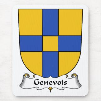 Escudo de la familia de Genevois Tapete De Ratones