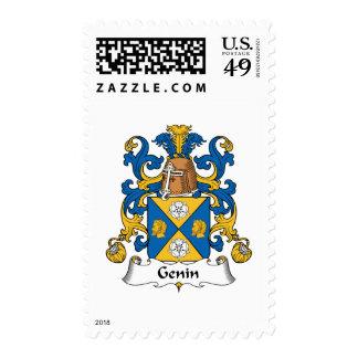 Escudo de la familia de Genin Sello