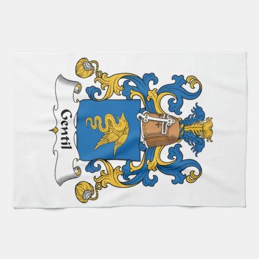 Escudo de la familia de Gentil Toalla