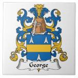 Escudo de la familia de George Azulejos