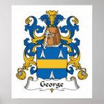 Escudo de la familia de George Posters