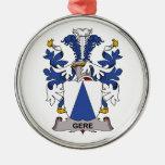 Escudo de la familia de Gere Ornaments Para Arbol De Navidad