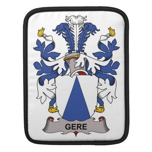 Escudo de la familia de Gere Funda Para iPads