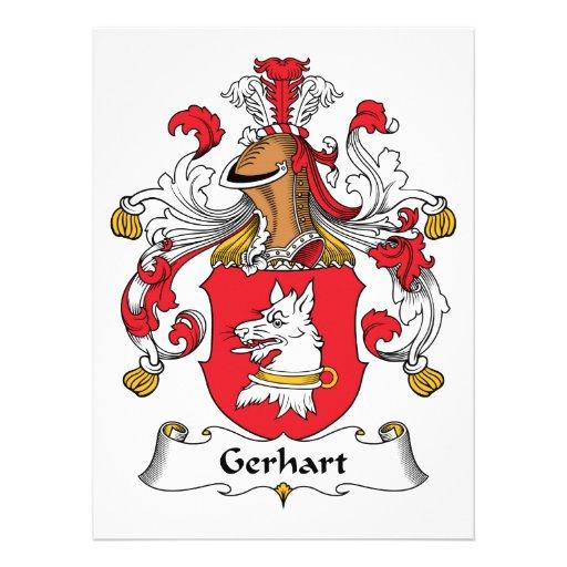 Escudo de la familia de Gerhart Comunicado Personal