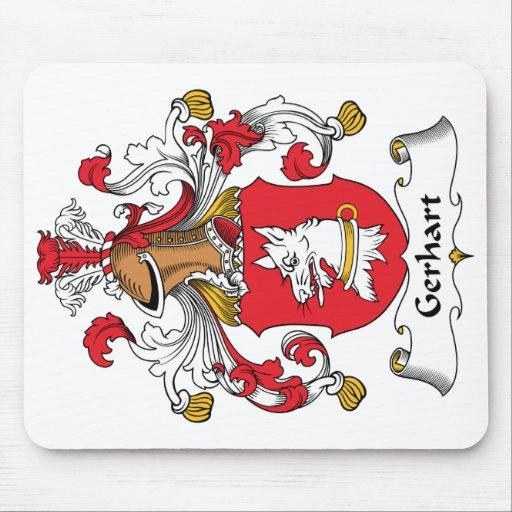 Escudo de la familia de Gerhart Alfombrillas De Ratones