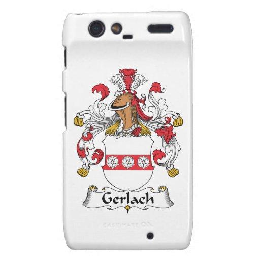 Escudo de la familia de Gerlach Motorola Droid RAZR Carcasa
