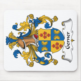 Escudo de la familia de Gerner Tapete De Ratones