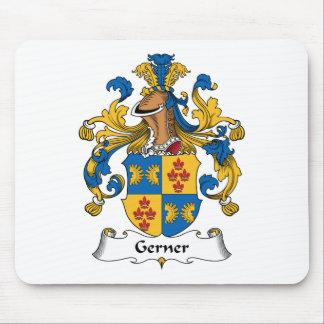 Escudo de la familia de Gerner Alfombrillas De Ratón