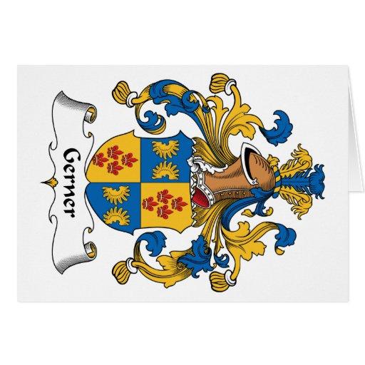 Escudo de la familia de Gerner Tarjeton