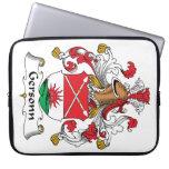 Escudo de la familia de Gersonn Funda Portátil