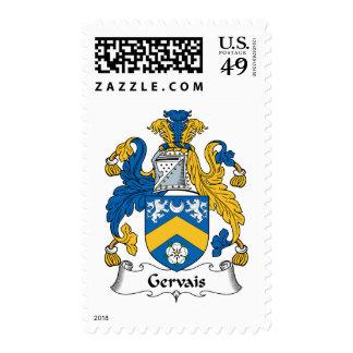 Escudo de la familia de Gervais Estampillas