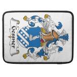 Escudo de la familia de Gessner Fundas Para Macbooks