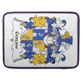Escudo de la familia de Geszaw Funda Para Macbook Pro