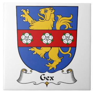 Escudo de la familia de Gex Azulejo