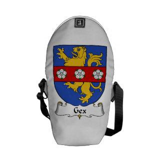 Escudo de la familia de Gex Bolsas De Mensajeria