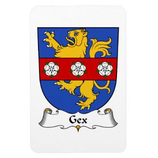 Escudo de la familia de Gex Imán De Vinilo
