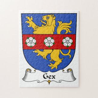 Escudo de la familia de Gex Puzzle Con Fotos