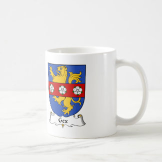 Escudo de la familia de Gex Tazas De Café