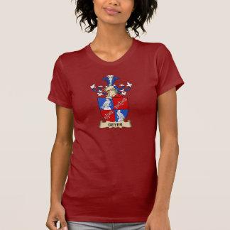 Escudo de la familia de Geyer Camisetas