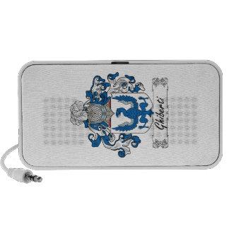 Escudo de la familia de Ghiberti Mini Altavoz