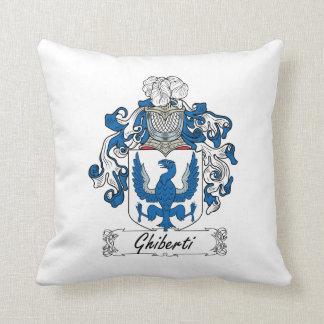 Escudo de la familia de Ghiberti Almohadas