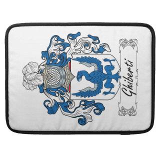 Escudo de la familia de Ghiberti Fundas Macbook Pro