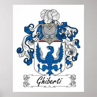 Escudo de la familia de Ghiberti Poster