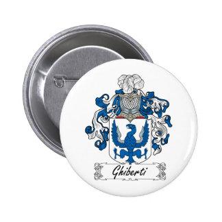 Escudo de la familia de Ghiberti Pins