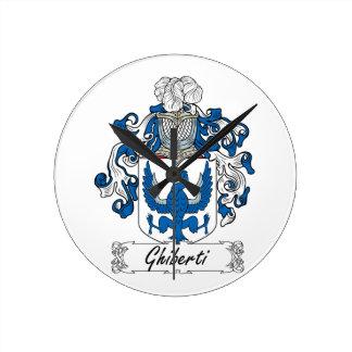 Escudo de la familia de Ghiberti Relojes
