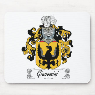 Escudo de la familia de Giacomini Alfombrillas De Ratones