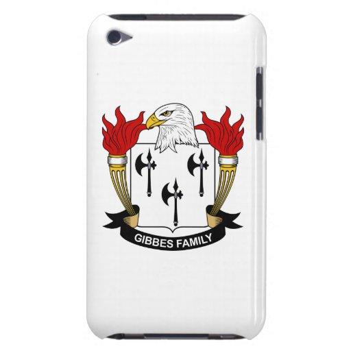 Escudo de la familia de Gibbes iPod Touch Case-Mate Carcasas