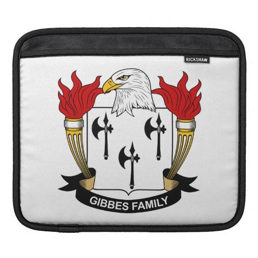 Escudo de la familia de Gibbes Mangas De iPad