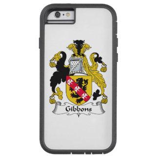 Escudo de la familia de Gibbons Funda De iPhone 6 Tough Xtreme