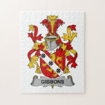 Escudo de la familia de Gibbons Rompecabezas