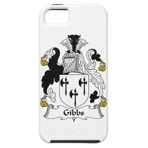 Escudo de la familia de Gibbs iPhone 5 Case-Mate Carcasas