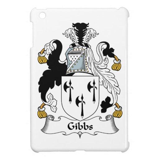 Escudo de la familia de Gibbs iPad Mini Carcasa