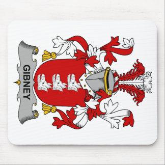 Escudo de la familia de Gibney Alfombrillas De Ratones