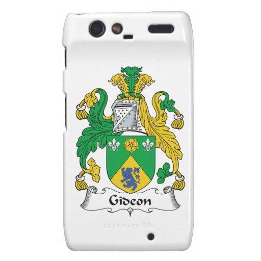 Escudo de la familia de Gideon Droid RAZR Carcasas