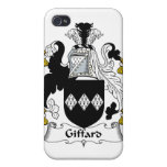 Escudo de la familia de Giffard iPhone 4 Carcasa