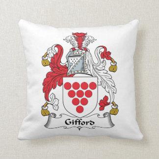 Escudo de la familia de Gifford Cojin