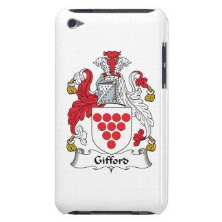 Escudo de la familia de Gifford Barely There iPod Cárcasas