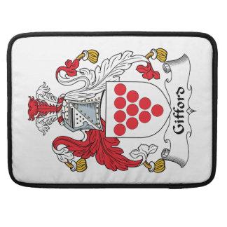 Escudo de la familia de Gifford Funda Macbook Pro
