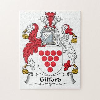 Escudo de la familia de Gifford Rompecabeza