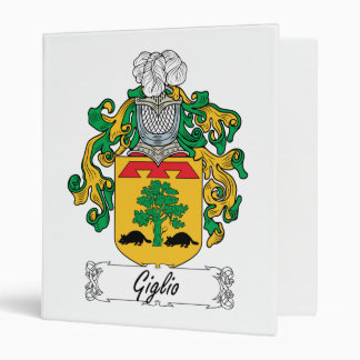 """Escudo de la familia de Giglio Carpeta 1"""""""